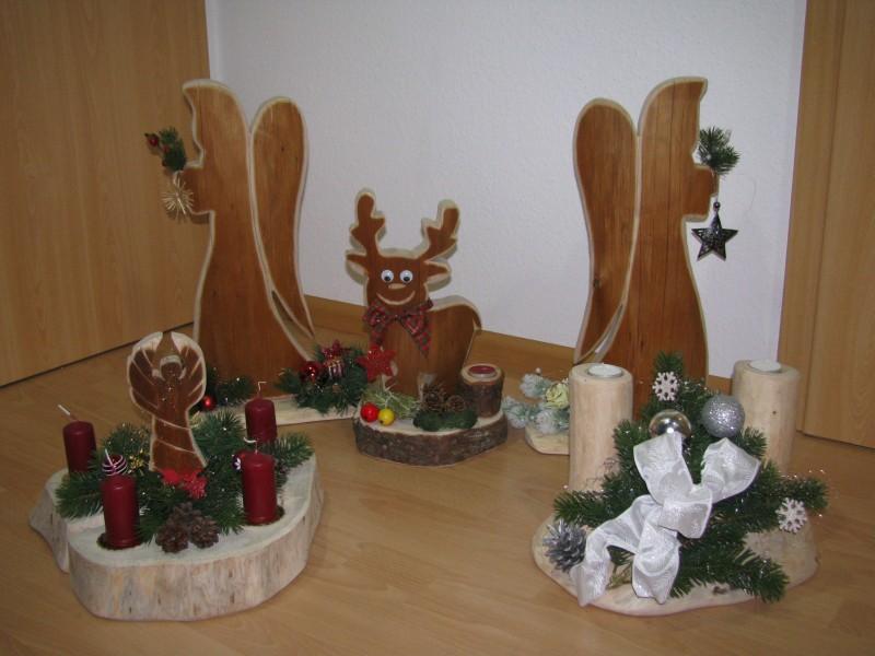 baumstamm weihnachtsdeko ihr traumhaus ideen. Black Bedroom Furniture Sets. Home Design Ideas